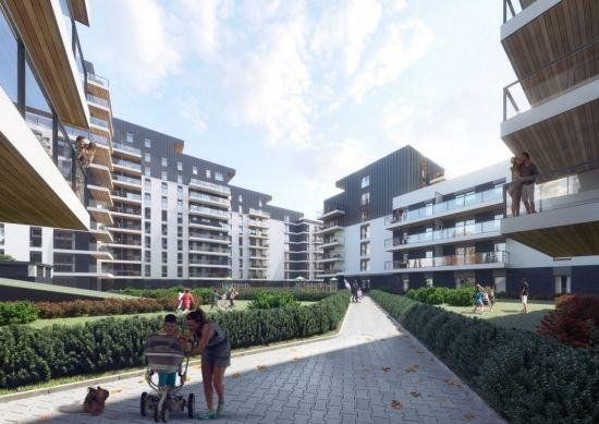 Przy hali Podpromie powstaje Wikana Square. Stworzą 275 mieszkań do 2021 roku [WIZUALIZACJE] - Aktualności Rzeszów - zdj. 2