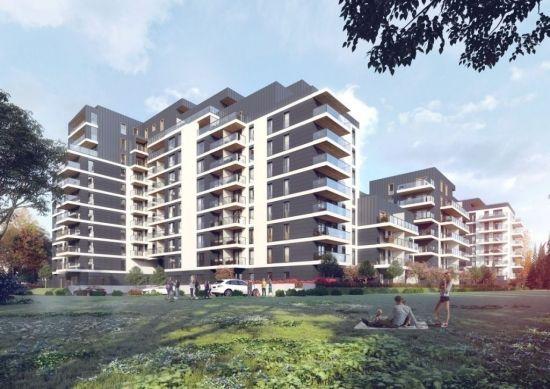 Przy hali Podpromie powstaje Wikana Square. Stworzą 275 mieszkań do 2021 roku [WIZUALIZACJE] - Aktualności Rzeszów - zdj. 1