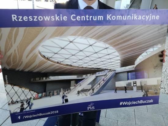 Wojciech Buczak zaprezentował koncepcję Rzeszowskiego Centrum Komunikacyjnego [WIZUALIZACJE] - Aktualności Rzeszów - zdj. 1