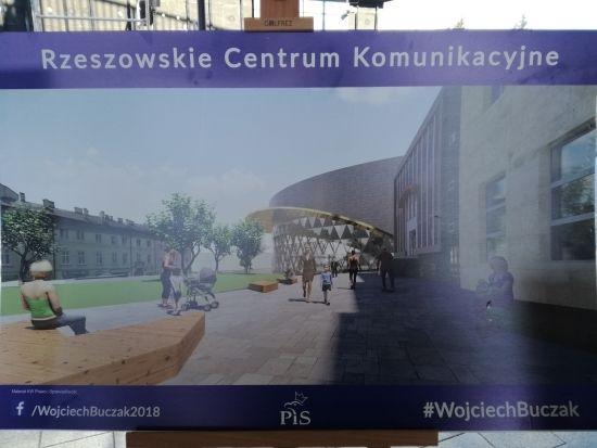 Wojciech Buczak zaprezentował koncepcję Rzeszowskiego Centrum Komunikacyjnego [WIZUALIZACJE] - Aktualności Rzeszów - zdj. 2