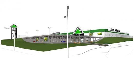 Otwarcie Leroy Merlin Rzeszów w drugiej połowie 2019 roku. Będzie podziemny parking   - Aktualności Rzeszów - zdj. 1