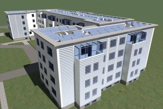 Politechnika Rzeszowska zbuduje nowy akademik. Przebudowany zostanie również Pingwin i Akapit [WIZUALIZACJE] - Aktualności Rzeszów - zdj. 3