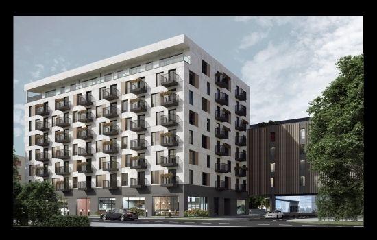 Kolejna inwestycja w rejonie hali Podpromie. Powstanie 113 lokali mieszkalnych [WIZUALIZACJE] - Aktualności Rzeszów - zdj. 1