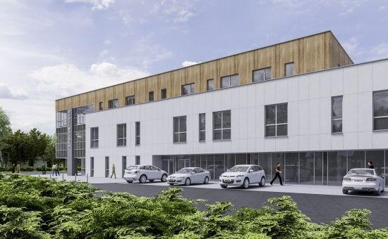W Budziwoju powstaje centrum handlowe. Otwarcie na wiosnę [WIZUALIZACJE] - Aktualności Rzeszów - zdj. 2