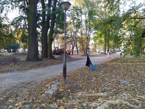 Trwa rewitalizacja parku przy ul. Dąbrowskiego [FOTO] - Aktualności Rzeszów - zdj. 3