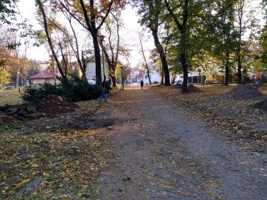 Trwa rewitalizacja parku przy ul. Dąbrowskiego [FOTO] - Aktualności Rzeszów - zdj. 4