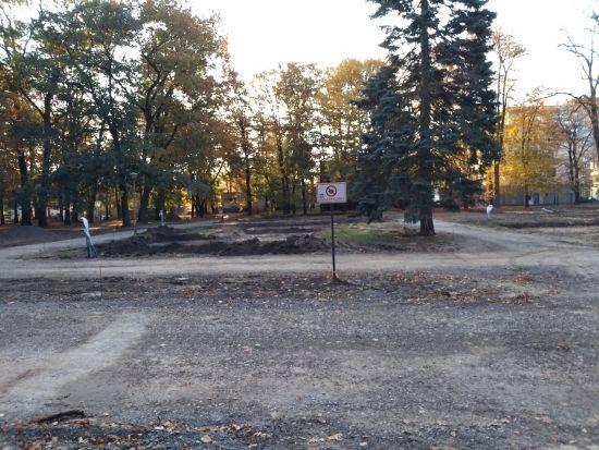 Trwa rewitalizacja parku przy ul. Dąbrowskiego [FOTO] - Aktualności Rzeszów - zdj. 15
