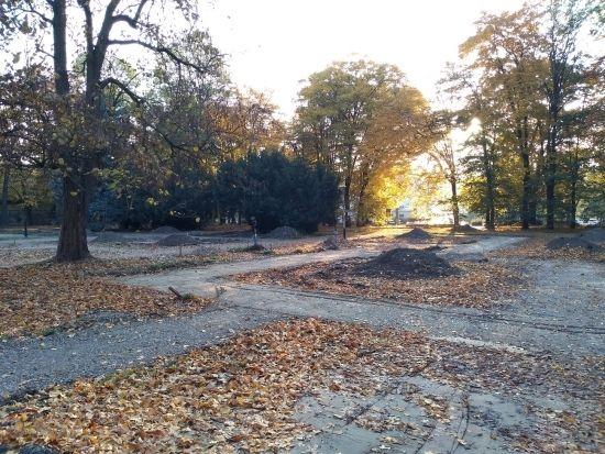Trwa rewitalizacja parku przy ul. Dąbrowskiego [FOTO] - Aktualności Rzeszów - zdj. 18