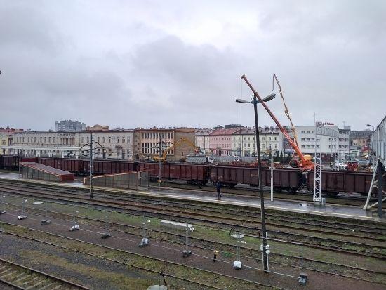 Przebudowa dworca PKP. Prace są mocno zaawansowane [FOTO] - Aktualności Rzeszów - zdj. 1