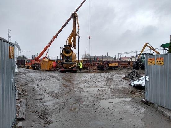Przebudowa dworca PKP. Prace są mocno zaawansowane [FOTO] - Aktualności Rzeszów - zdj. 5