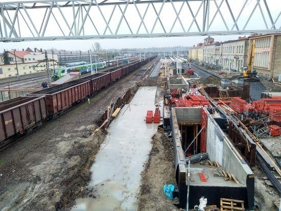 Przebudowa dworca PKP. Prace są mocno zaawansowane [FOTO] - Aktualności Rzeszów - zdj. 6