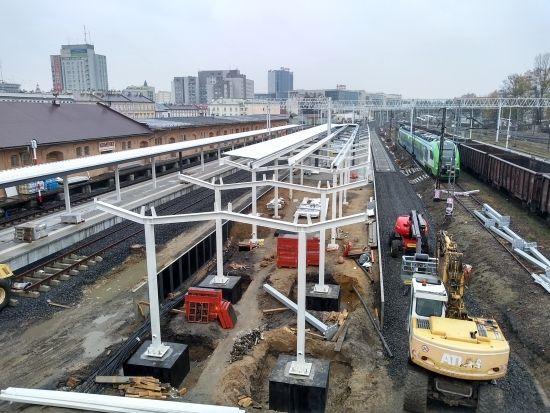 Przebudowa dworca PKP. Prace są mocno zaawansowane [FOTO] - Aktualności Rzeszów - zdj. 7