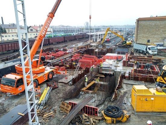 Przebudowa dworca PKP. Prace są mocno zaawansowane [FOTO] - Aktualności Rzeszów - zdj. 8