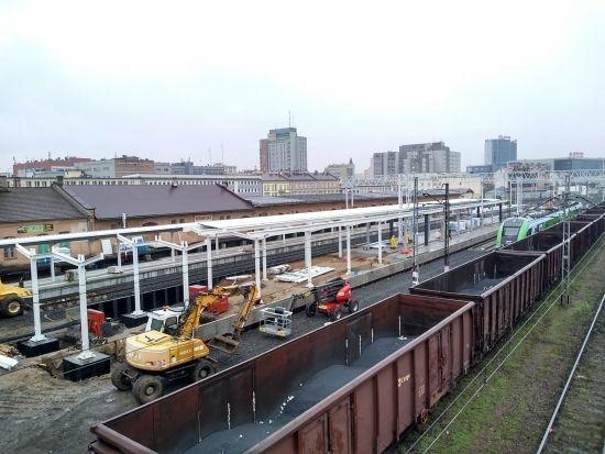 Przebudowa dworca PKP. Prace są mocno zaawansowane [FOTO] - Aktualności Rzeszów - zdj. 10