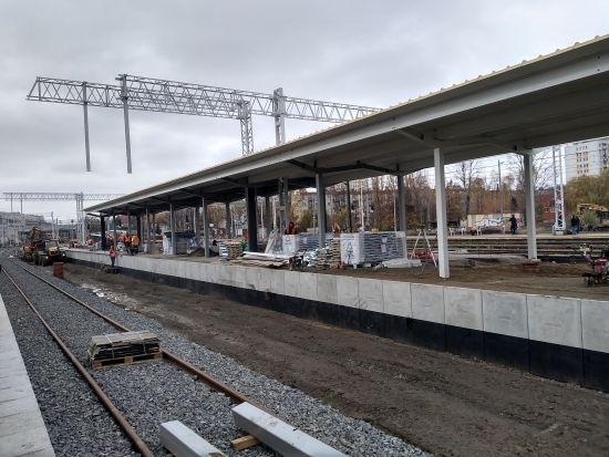 Raport z prac na stacji Rzeszów Główny. 19 listopada uruchomią peron nr 1 [FOTO] - Aktualności Rzeszów - zdj. 1