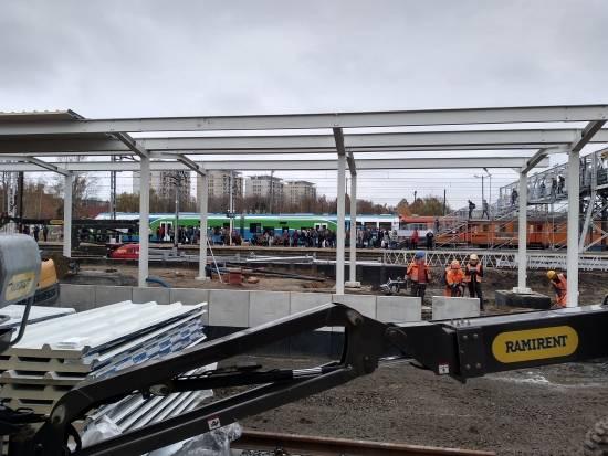 Raport z prac na stacji Rzeszów Główny. 19 listopada uruchomią peron nr 1 [FOTO] - Aktualności Rzeszów - zdj. 8