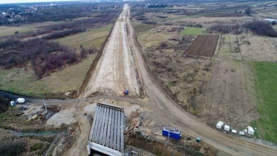 Trwa budowa obwodnicy Stalowej Woli i Niska [FOTO] - Aktualności Podkarpacie - zdj. 4