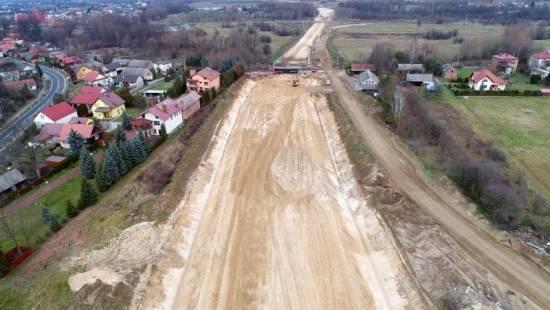 Trwa budowa obwodnicy Stalowej Woli i Niska [FOTO] - Aktualności Podkarpacie - zdj. 10