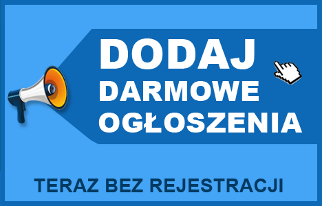 Dodaj darmowe ogłoszenia